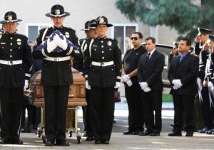 SAPD Honor Guard.